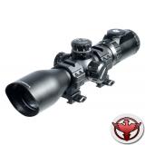 LEAPERS Accushot Tactical 3-12X44 Compact Mil Dot с подсветкой (2-36 цв.)