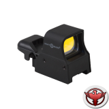 Коллиматор Sightmark Ultra Shot Pro Spec (с режимом для ПНВ), быстросъемный кронштейн на Weaver