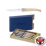 Набор ножей Opinel серии Table Chic №10 - 4шт., клинок 10см., нерж. сталь, зеркальная полировка, рукоять - ясень