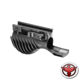 Рукоятка тактическая передняя с креплением для фонаря с наружным диаметром 1 1/8 дюйма