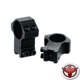 Кольца LEAPERS AccuShot 25,4 мм, на призму 10-12 мм, высокие