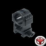 Кольца Leapers UTG 25,4 мм быстросъемные на Weaver с винтовым зажимом, высокие, 3 винта
