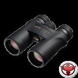 Nikon MONARCH 7 8x42 влагозащищ., Roof-призма, ED-стекла, защита от царапин, увелич.разрешение