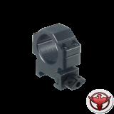 Кольца Leapers UTG 25,4 мм быстросъемные на Weaver с винтовым зажимом, низкие
