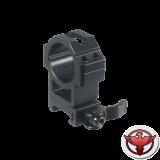 Кольца Leapers UTG 30 мм быстросъемные на Picatinny с рычажным зажимом, высокие