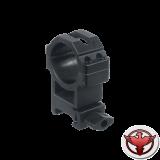 Кольца Leapers UTG 30 мм быстросъемные на Weaver с винтовым зажимом, высокие
