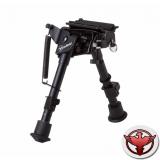 Сошки Firefield Compact Bipod на антабку, регулируемые 152 (слож.) 228 (общ.) - алюминий, Picatinny-адаптер