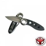 Нож Sanrenmu серии Tactical, лезвие 85 мм, рукоять чёрная G10, крепление на ремень