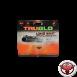 Мушка Truglo TG947CRM 2,6 мм красная, металлическая, ввинчивающаяся.