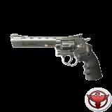 Dan Wesson револьвер 6' никель, цельнометаллический