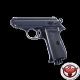 Пистолет пневмат. PPK/S,  чёрный