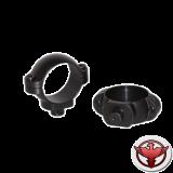 кольца для быстросъемного кронштейна 30 мм сверхвысокие матовые