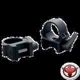 Быстросъемные кольца QRW на Weaver 26 мм низкие матовые
