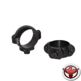 кольца для быстросъемного кронштейна 30 мм средние матовые