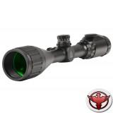 LEAPERS True Hunter IE 3-9X50 AO Mil-Dot 25,4 мм подсветка (36цв), сетка-нить, с кольцами weaver