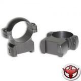 кольца небыстросъемные 30мм. на CZ 550, средние, матовые, металл