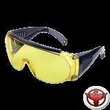 """""""Allen"""" очки стрелковые и защитные, жёлтые (одеваются поверх обычных очков)"""