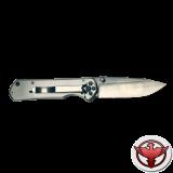 Нож Sanrenmu серии EDC, лезвие 71 мм, металлическая рукоять, крепление на ремень