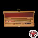 набор для чистки в деревянной коробке, калибр 8 мм NIMAR (Италия)