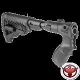 Телескопический складной приклад с амортизатором для Remington 870