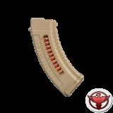Магазин полимерный 7.62x39 на 30 патронов для AK (tan)