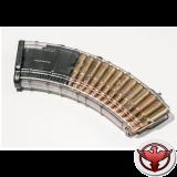 Магазин Pufgun на ВПО-136/АК/АКМ/Сайга (с сухарем), 7,62х39, 30 патронов, полимер.