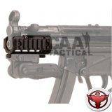 """""""Цевье для MP5K из анодированного алюминия  с 3 интегрированными планками пикатинни"""""""