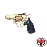 """Dan Wesson револьвер 2,5"""" пневматический кал. 4,5 мм, золотистый"""