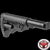 Телескопический складной приклад для САЙГИ/AK-74M/АК-100-ые серии