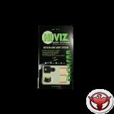 """HiViz мушка поперечная для карабинов с планкой 9,5 мм (3/8"""") высота .380"""""""