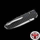 Нож LionSteel серии Daghetta лезвие 80 мм, рукоять - G10 чёрная
