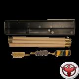 набор для чистки коробка, калибр 20, шомпол деревянный