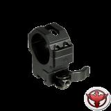 Кольца Leapers UTG 30 мм быстросъемные на 11 мм с рычажным зажимом, средние