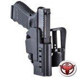 Кобура для Glock 9 мм и  .40 калибр с тройной фиксацией