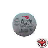 пульки HN Finale match по 500 шт., кал. 4,49 мм