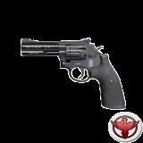 """револьвер пневматический Smith&Wesson 586 4"""", 4,5 мм, чёрный"""