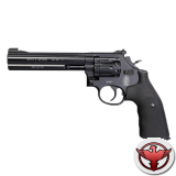 """револьвер пневматический Smith&Wesson 586 6"""" 4,5 мм, чёрный"""