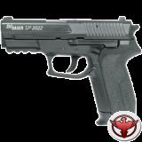 Пистолет пневматический Sig Sauer 2022 черный, металл