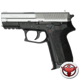 пистолет пневматический Sig Sauer 2022 метал. никель, 130 м/с