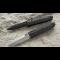 Нож LionSteel серии Daghetta лезвие 80 мм черное, рукоять - анодированный алюминий, чёрная