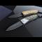 Нож LionSteel серии Opera лезвие 74 мм, рукоять - оливковое дерево, в деревянной коробке